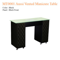 MT0001 Aussi Vented Manicure Table – 42 inches
