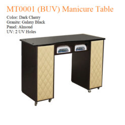 MT0001 (BUV) Manicure Table – 42 inches