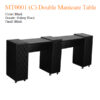 MT0001 C Double Manicure Table – 74 inches 1a 100x100 - MT0001 (C) Double Manicure Table - 74 inches