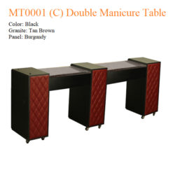 MT0001 C Double Manicure Table – 74 inches 3a 247x247 - Equipment nail salon furniture manicure pedicure