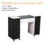 MT0002 Aussi (A) Manicure Table – 42 inches