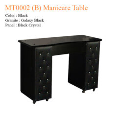 MT0002 (B) Manicure Table – 42 inches