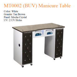 MT0002 (BUV) Manicure Table – 42 inches