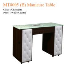 MT0002 Vented Manicure Table – 42 inches 4 247x247 - Equipment nail salon furniture manicure pedicure
