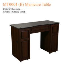 MT0004 B Manicure Table 42 inches 0 247x247 - Thiết bị đồ nội thất tiệm nail làm móng tay móng chân