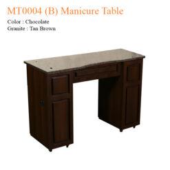 MT0004 B Manicure Table 42 inches 247x247 - Thiết bị đồ nội thất tiệm nail làm móng tay móng chân