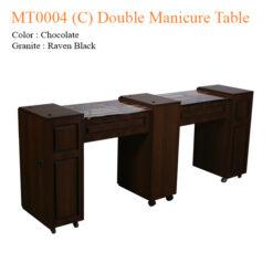 MT0004 C Double Manicure Table 74 inches 0 247x247 - Equipment nail salon furniture manicure pedicure