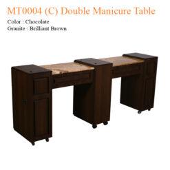 MT0004 C Double Manicure Table 74 inches 247x247 - Equipment nail salon furniture manicure pedicure