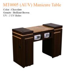 MT0005 AUV Manicure Table 42 inches 247x247 - Equipment nail salon furniture manicure pedicure