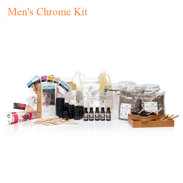Men's Chrome Kit – Botanical Escapes Herbal Spa Pedicure