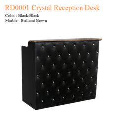 RD0001 Crystal Reception Desk – 48 inches