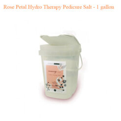 Rose Petal Hydro Therapy Pedicure Salt – 1 gallon