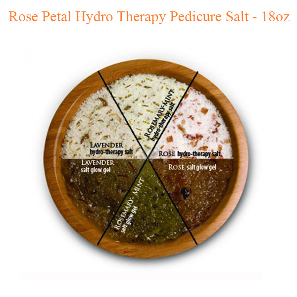Rose Petal Hydro Therapy Pedicure Salt – 18oz