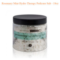 Rosemary Mint Hydro Therapy Pedicure Salt – 18oz