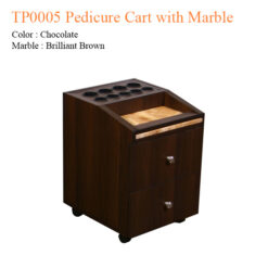 TP0005 Pedicure Cart with Marble – 21 inches