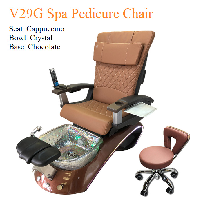 V29G Luxury Spa Pedicure Chair with Magnetic Jet – Human Touch Massage System