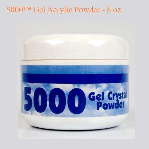 5000™ Gel Acrylic Powder – 8 oz