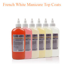 A Manicure Design – French White Manicure Top Coats