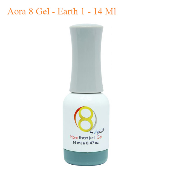 Aora 8 Gel Earth 1 14 Ml - Aora Sticker