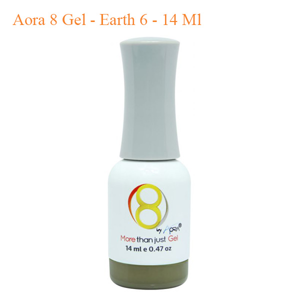 Sơn 8 Gel Aora – Earth 6 – 14ml