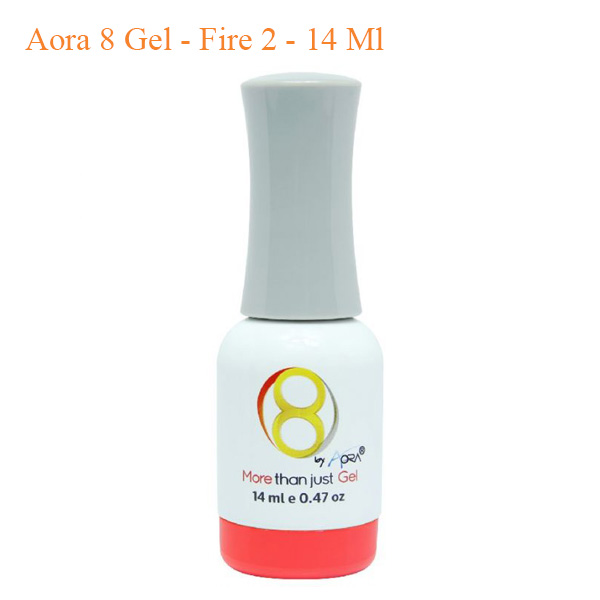 Sơn 8 Gel Aora – Fire 2 – 14ml
