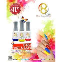 Aora 8 Gel Fire 3 14 Ml 0 247x247 - Equipment nail salon furniture manicure pedicure
