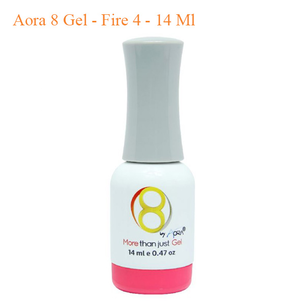 Sơn 8 Gel Aora – Fire 4 – 14ml