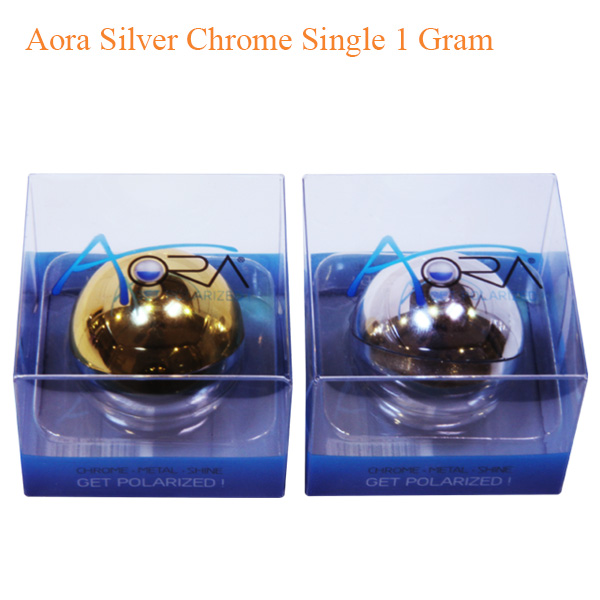 Aora Silver Chrome Single 1 Gram