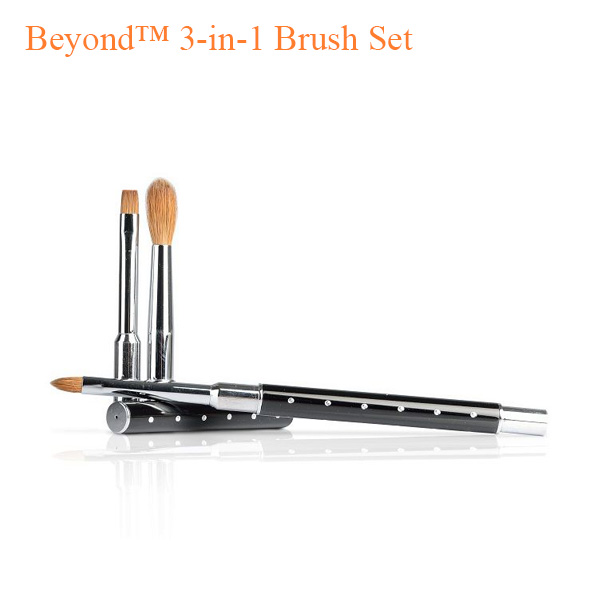 Beyond™ 3-in-1 Brush Set