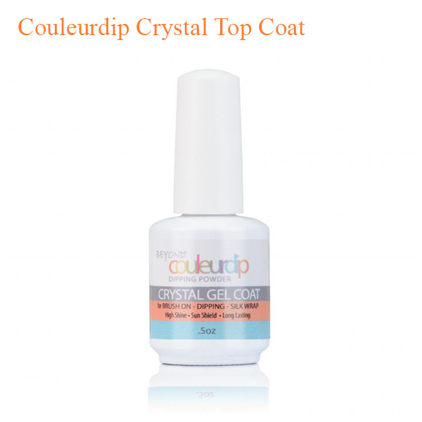 Beyond Couleurdip Crystal Top Coat – 0.5 oz