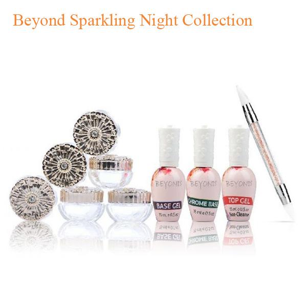 Avon Chrome Nail Powder: Beyond Sparkling Night Collection