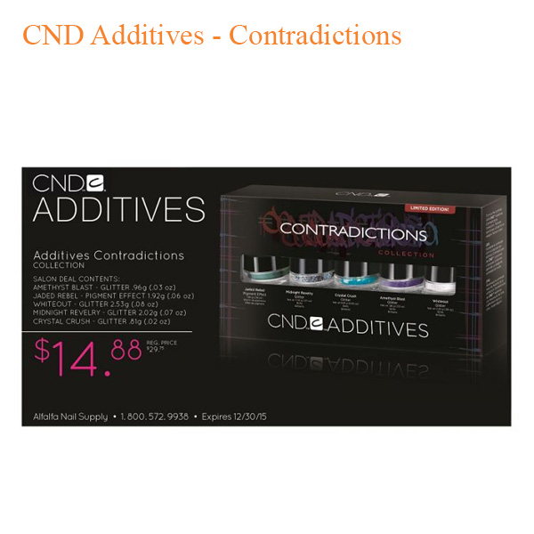 CND Additives – Contradictions