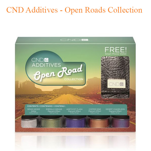 CND Additives – Open Roads Collection