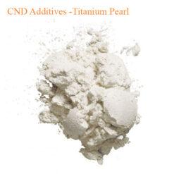 CND Additives -Titanium Pearl