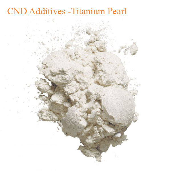 CND Additives -Titanium Pearl