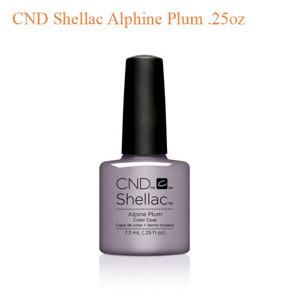 CND Shellac Alphine Plum .25oz