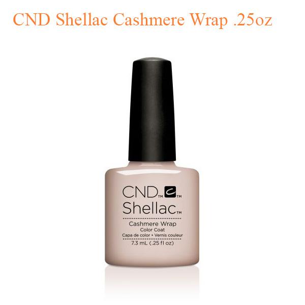 CND Shellac Cashmere Wrap .25oz