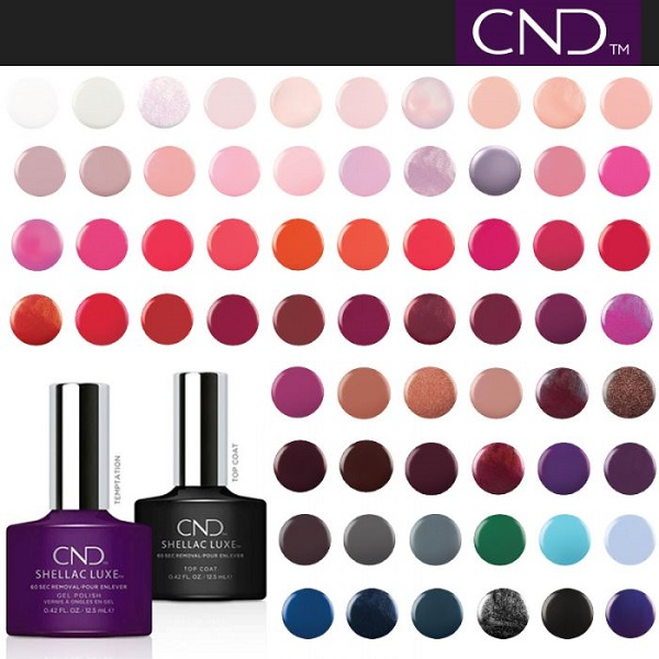 CND Shellac Luxe – All Color Collections