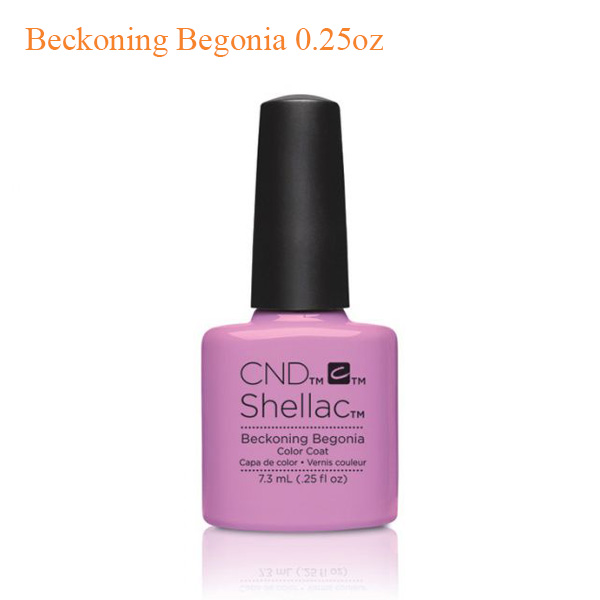 CND Shellac Power Polish – Beckoning Begonia 0.25oz