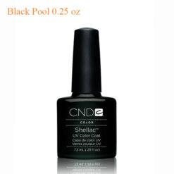 CND Shellac Power Polish – Black Pool 0.25 oz