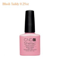 CND Shellac Power Polish Blush Teddy 0.25oz 247x247 - Pedicure Spa, Nail Table, Furniture & Equipment