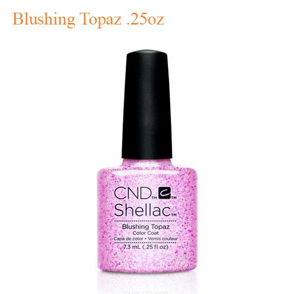 Sơn Gel CND Shellac – Blushing Topaz 0.25oz