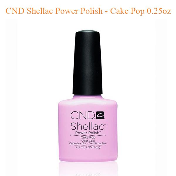Sơn Gel CND Shellac – Cake Pop 0.25oz