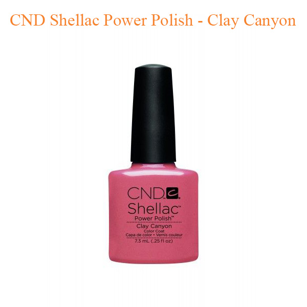 CND Shellac Power Polish – Clay Canyon
