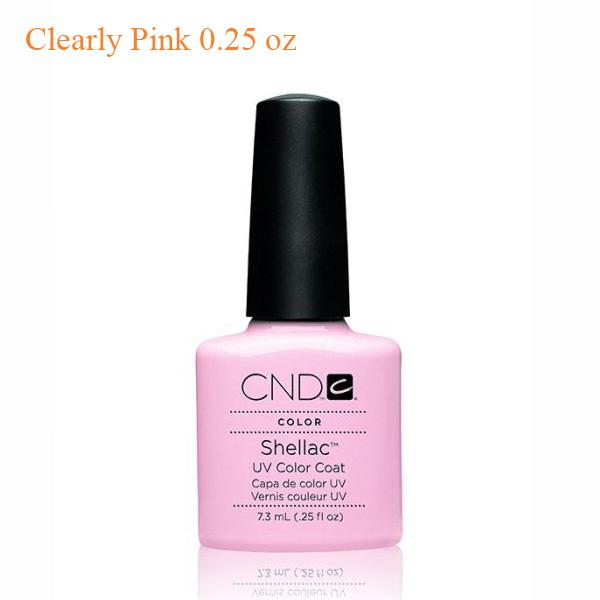Sơn Gel CND Shellac – Clearly Pink 0.25 oz