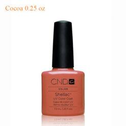 CND Shellac Power Polish – Cocoa 0.25 oz