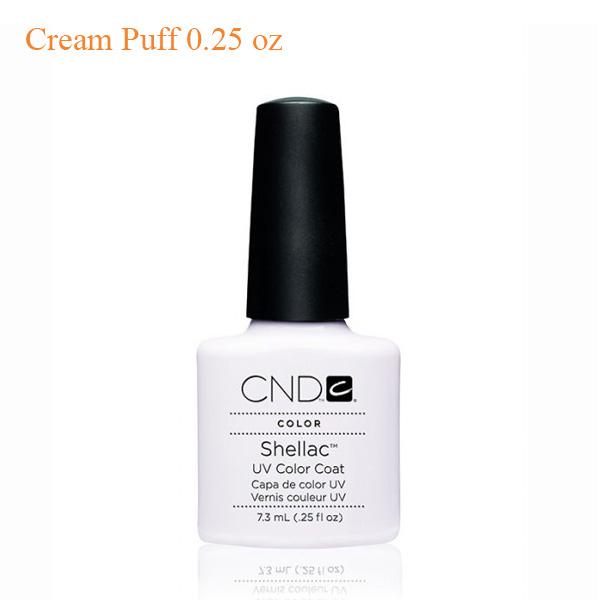 Sơn Gel CND Shellac – Cream Puff 0.25 oz