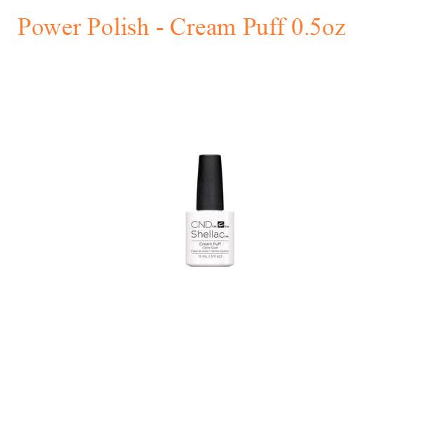 Sơn Gel CND Shellac – Cream Puff 0.5oz