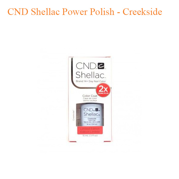 CND Shellac Power Polish – Creekside 0.5oz