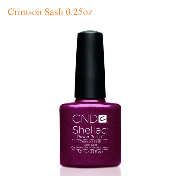 CND Shellac Power Polish – Crimson Sash 0.25oz